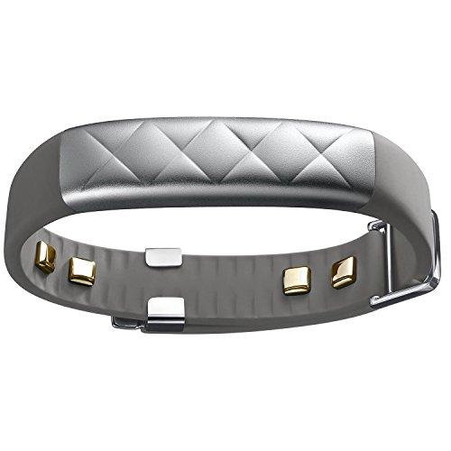 Jawbone UP3 by Heart Rate, Activity + Sleep Tracker, Silver Cross (Gray)