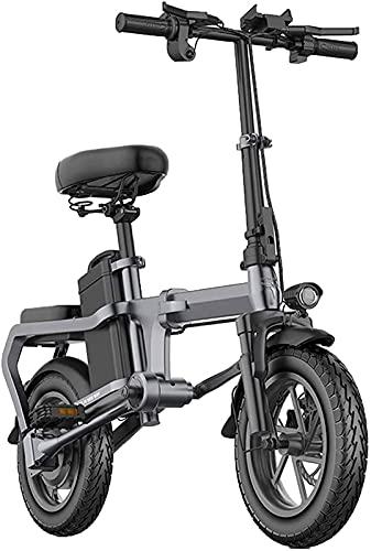 Bicicleta electrica Bicicletas eléctricas plegables para adultos aleación de aluminio 14in Ciudad...