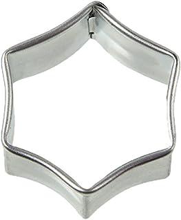 Zenker 7759 Emporte Pièces Patisserie hexagone 3,3x3,7x1,7 cm Argent, Acier Inoxydable, 3,3 x 3,7 x 1,7 cm