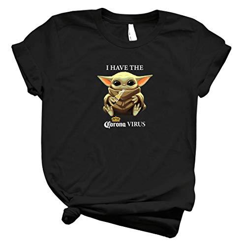 Baby Yodα I Have The Córónávírús Funny Staar Waars Shirt – Yodα Baby Drink Coroona Beer Against Córónávírús Cute Tee For Men Women Handmade Shirt Customize T Sh T Shirt 5060