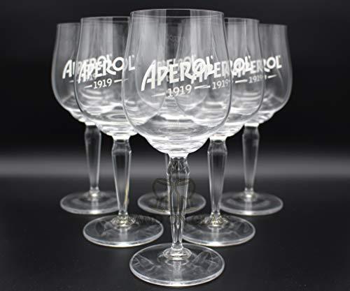 Aperol Spritz Gläser 6er-Set