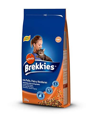 Affinity Brekkies alimento gatto Pollo, anatra e verdure 20Kg + gioco in omaggio