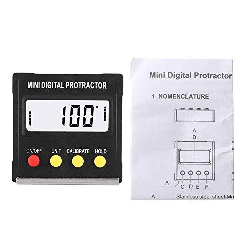 Toasses Mini Electronic Digital LCD Proproctor Angulo DE Angulo Caja DE Nivel INCINCITO Herramientas DE MEDICIÓN