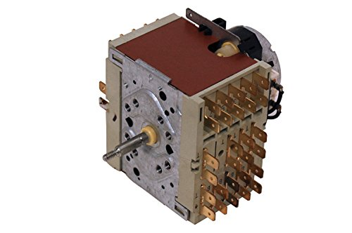 Baumatic Homark Hygena Nardi Proline Servis Teka - Timer per lavatrice, codice articolo originale 651016027