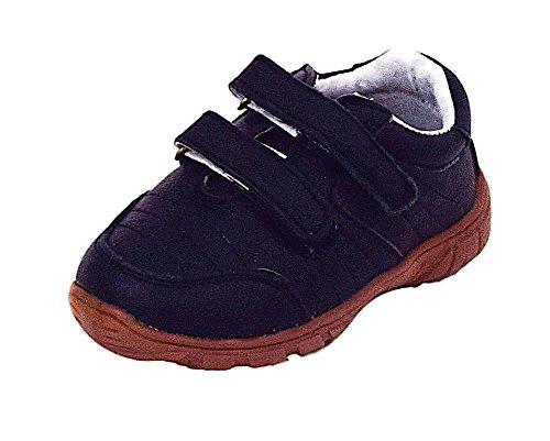 Magnus Baby Kinder Lauflernschuhe Leder Schuhe (24, Navy)