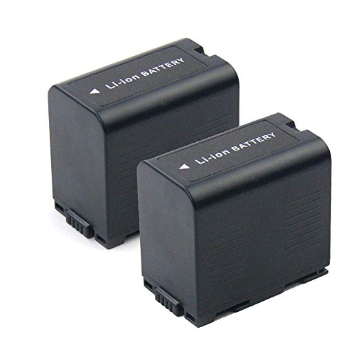 subtel 2X Batería Premium Compatible con Panasonic AG-AC90 AG-DVX100 NV-DA1 NV-MX500 NV-DS60 -DS27 NV-GS1 GS11 PV-DV100 PV-DC152, CGA-D54 CGR-D120 -D220 3300mAh bateria Repuesto Pila