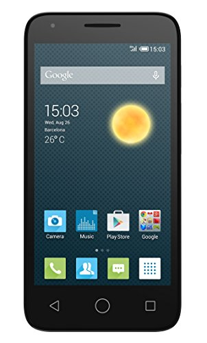 Alcatel Onetouch Pixi 3 Smartphone (Dual SIM, 11,4 cm (4,5 Zoll), Dual-Core, 1GHz, 4GB) weiß
