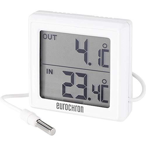 Eurochron ETH 5200 Thermometer Weiß
