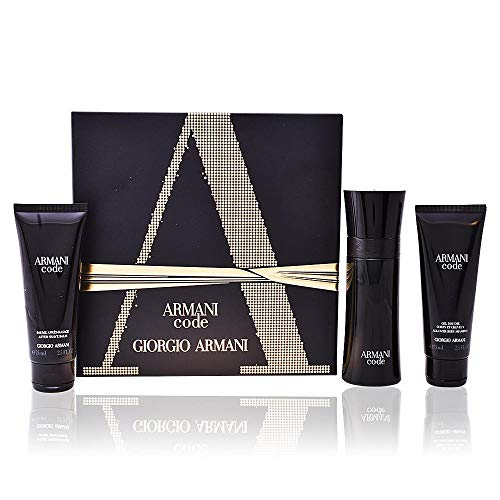 ARMANI Code Homme Set 75 Vp + Shower Gel 50 + After Shave Balm 75 ml