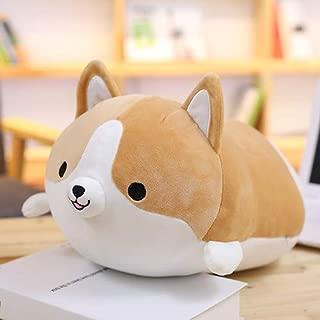 Lemongrass. 30/45/60Cm Cute Corgi Dog Plush Toy Stuffed Soft Animal Cartoon Pillow Lovely for Kids I Valentine Present Cool Must Haves Inspirational Gifts Favourite