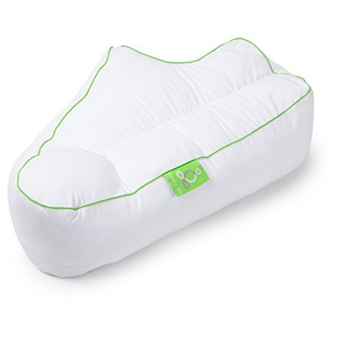 Sleep Yoga BP-SY02 Side Sleeper Arm Rest Pillow for Back, Shoulder, Elbow and Wrist Comfort, Standard, White