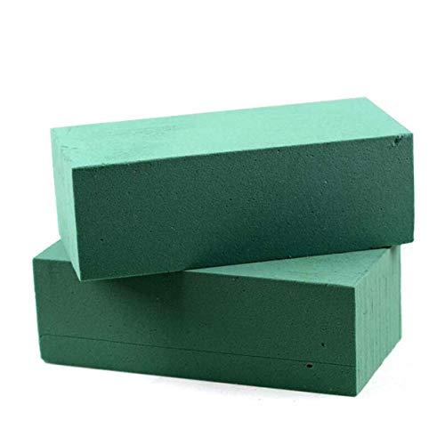 Supvox Floral Foam Bricks Grüne Styropor-Blöcke für künstliche Blumen oder Pflanzen