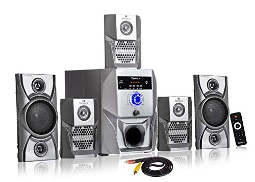 Tronica Grey Super King Series 5.1 Bluetooth Multimedia Speakers with FM/Pen Drive/Sd Card/Mobile/Aux Support