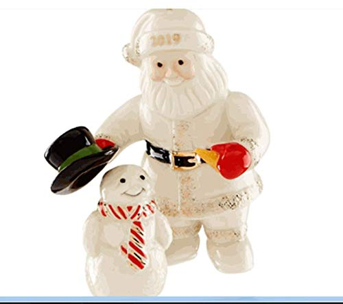 Lenox ~ 2019 Santa's Snowy Friend Ornament