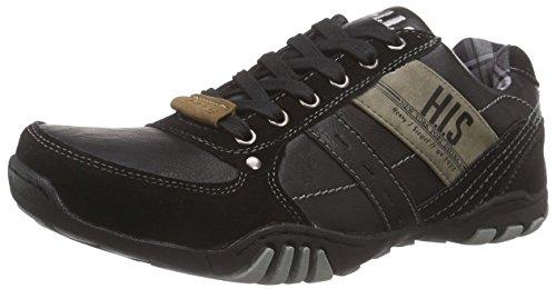 H.I.S Herren 027-56 Sneakers, Schwarz (Black), 44 EU