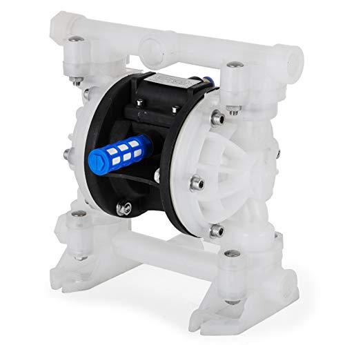 VEVOR Druckluft Doppelmembranpumpe 2 m3/h, Membranpumpe Luft 5 Kg, Membranpumpe v0 Luft