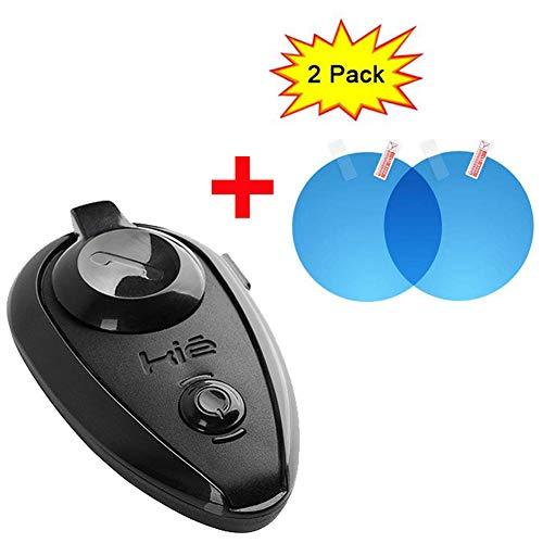 EuroFone Inalámbrico Bluetooth Casco Intercomunicador Auriculares Interphone para Motociclistas y Esquiadores 500m