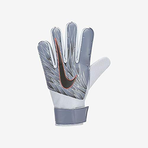 Nike Kinder Match Junior Torwarthandschuhe, Armory Blue/Metallic Silver/Black, 7