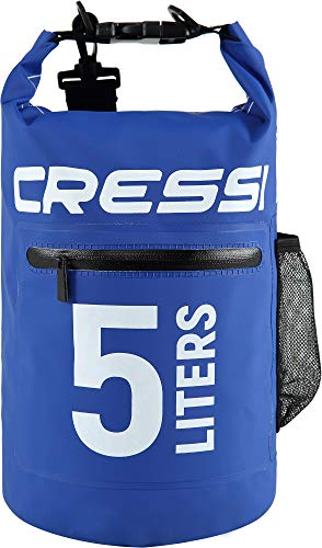 Cressi Dry Bag with Zip Mochila Impermeable Cremallera
