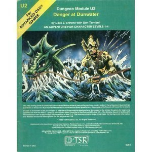U2 Danger at Dunwater - Book  of the Advanced Dungeons and Dragons Module #C4