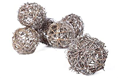 Factory Direct Craft Twig Brush Balls