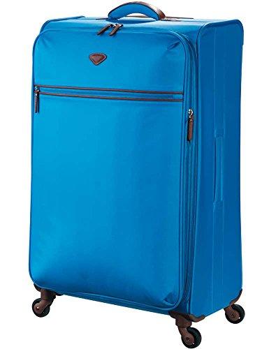 Jump - Maleta flexible extensible (79 cm), color morado azul celeste 79 cm
