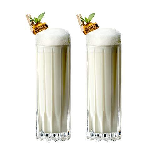 Riedel Drink Specific Glassware Fizz - Vaso de cóctel (255 ml), transparente