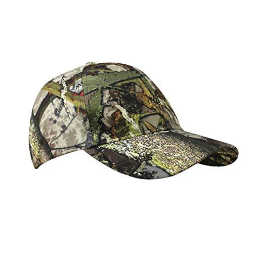 HUNTSBURY Gorra de béisbol de camuflaje para adultos o niños Camouflage Hedgerow...