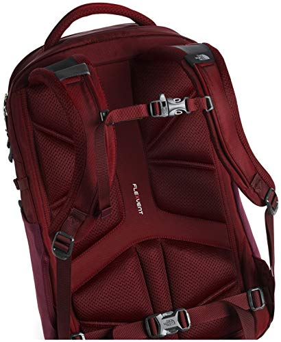 The North Face Women's Recon Backpack, Deep Garnet Red/Cardinal Red, One Size