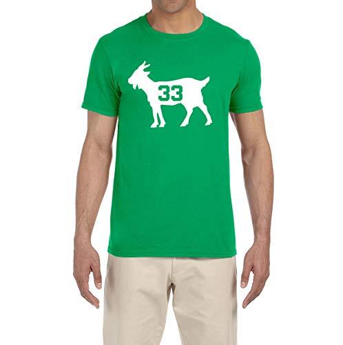 Peg Leg Shirts GREEN Boston Bird Goat T-Shirt ADULT XL