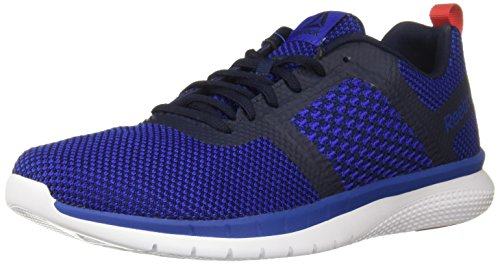 Reebok Men's PT Prime Runner Running Shoe, Blue Move/Collegiate Navy, 10 M US