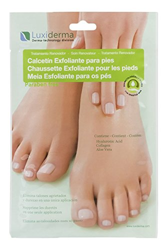 Luxiderma COS 400 Calcetín exfoliante - 2 calcetines