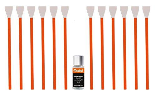 Rollei Sensor Cleaning Set - kit di pulizia sensore per telecamere con MFT Sensor, compresi pennelli per sensori, liquido detergente per sensori