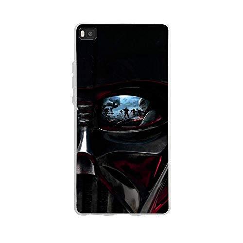 Carcasa de Silicona para Huawei P8 Lite Fan de Star Wars Darth Vader