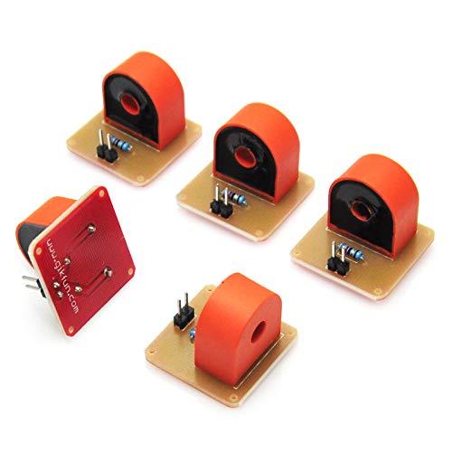 Gikfun DIY 5A Range AC Current Transformer Module for Arduino (Pack of 5pcs) EK1344x5