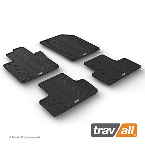 Travall Mats Gummifußmatten Kompatibel Mit Volvo XC60 (Ab 2017) TRM1303 - Allwettermatten Nach Maß Fussmatten Set