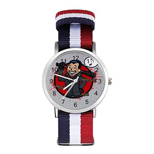 Eenie Meenie Boy Walking Dead Reloj de pulsera trenzado con escala