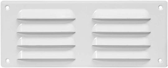 MKK/® Grille da/ération rectangulaire en plastique 170 x 170 mm blanc