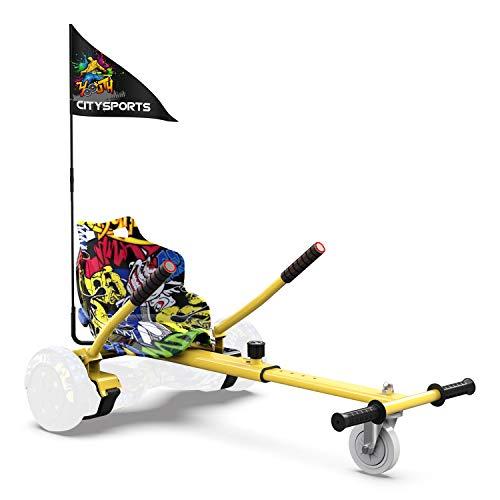 migliori hoverboard con manubrio e ruote grandi