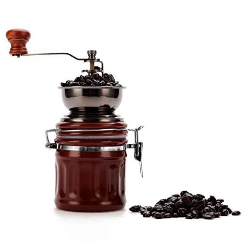 Koffiezetapparaat, Ceramic Manual koffiemolen Huishoudelijke Kleine Kern van het Staal Hand Crank Koffiemolen Electric XIUYU