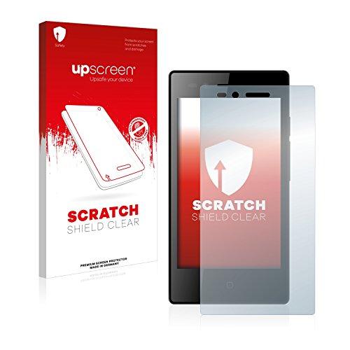 upscreen Schutzfolie kompatibel mit Siswoo A4+ Chocolate – Kristallklar, Kratzschutz, Anti-Fingerprint