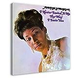 Aretha Franklin's Album-Cover – I Never Loved A Man The