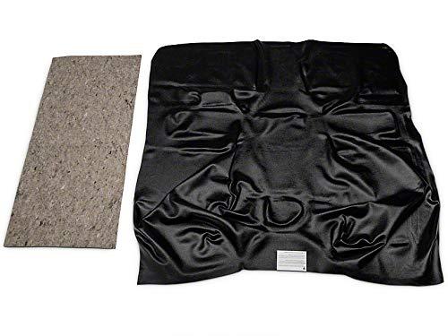 ACC Vinyl Flooring for Chevrolet Standard Cab Pickup Truck - Black Vinyl Custom Molded Carpet Replacement Kit Fits 1989-1998