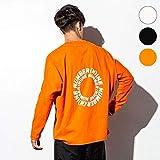 ナンバーナイン デニム(NUMBER(N)INE DENIM) NUMBER (N)INE DENIM(ナンバーナインデニム)サークルロゴドルマンロングTシャツ【orange/M】