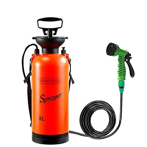 Wovemster Camping Dusche,Tragbare Bad Multifunktional Sprühgerät,Kleines Spritzgerät Für Reise Bewässerung Auto Waschen(5L/8L)