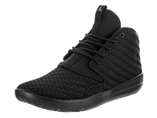 Jordan Nike Kids Eclipse Chukka BG Black/Cool Grey Basketball Shoe 4.5 Kids US