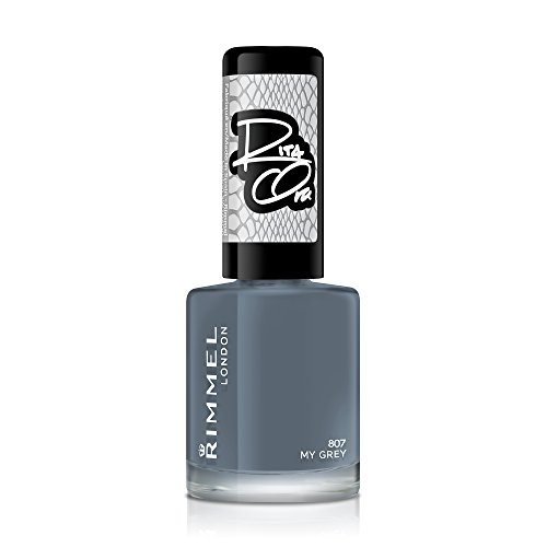 Rimmel 60 Seconds Super Shine Rita Ora - Vernis à Ongles My Grey 8 ml