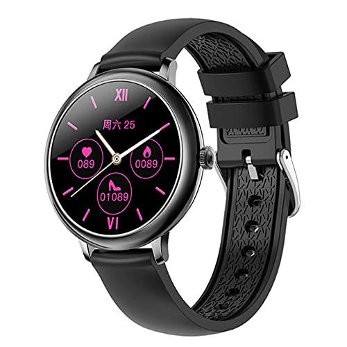 VBF Smart Watch, Monitor De Ritmo Cardíaco De La Presión Arterial De Las Señoras, Rastreador De Fitness De La Moda De NY12, Reloj Inteligente De Reloj De Niña para Android iOS,C