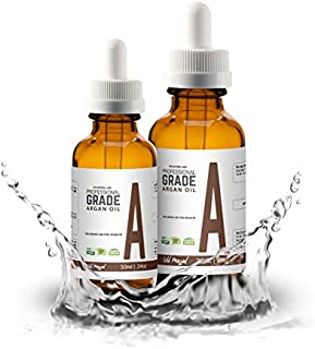 Pro Natural Care   Argan Oil Kit   100% Cold Pressed & Pure   Natural, Organic   Body, Skin, Beards & Hair Moisturizer   Softens Wrinkles & Fine Lines   Includes both 30ml and 10ml Travel Size Bottle