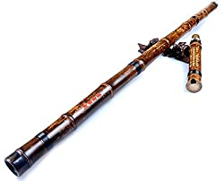 Chinese Shakuhachi Xiao Flute (Right-Handed Key of G)